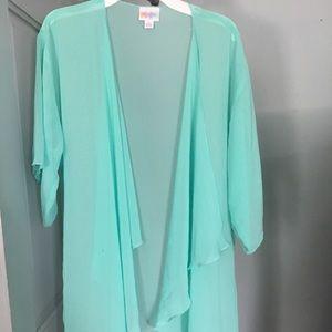 NWOT LuLaRoe Fringe Kimono